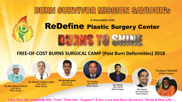 Burns Surgical Camp Poster